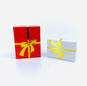 Gift Box with a Bow | Cotton Filled