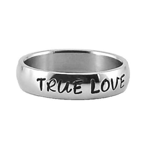Custom Name Ring - Shiny Finish on a Thin Band : PERSONALIZED your way!