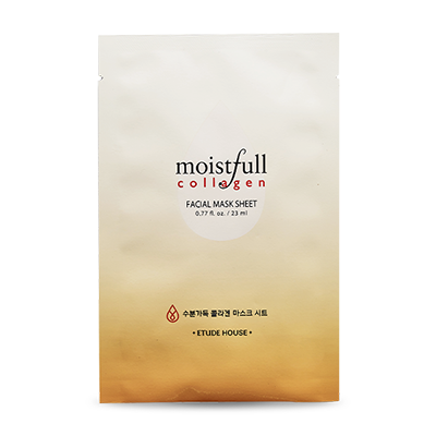 Etude House moistful collagen facial mask sheet