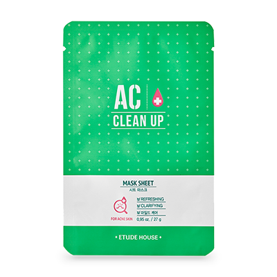 Etude House AC clean up mask sheet
