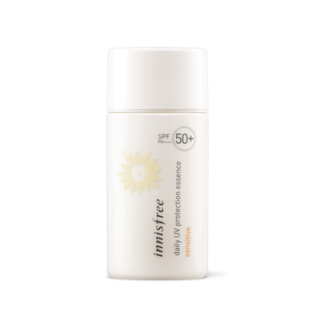 Innisfree daily UV protection essence sensitive SPF50+ PA++++