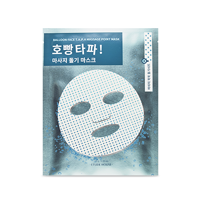 Etude House balloon face T.A.P.A Massage point mask 28g