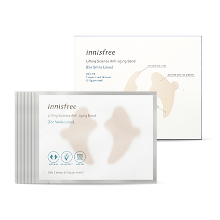 Innisfree Lifting Science Anti-Aging Band (For Smile Lines) 7ea