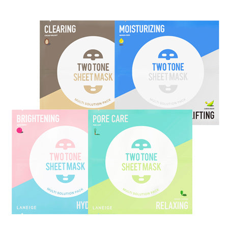 Laneige Two Tone Sheet Mask 1ea