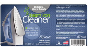 Steam Iron Cleaner - label
