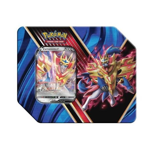 Pokemon TCG: Legends of Galar Tin Foil Zamazenta (Shield)