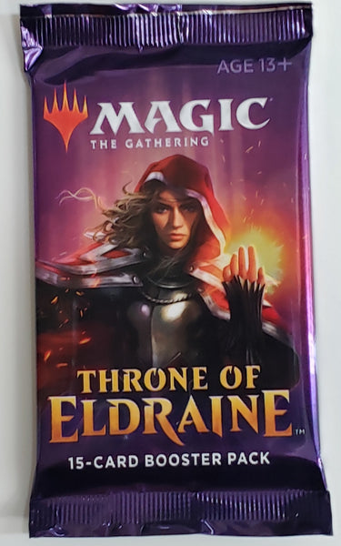 MTG TCG Throne of Eldraine booster packs
