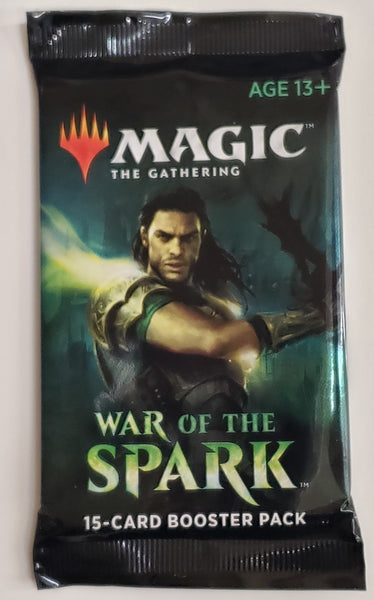 MTG TCG War of the Spark booster packs