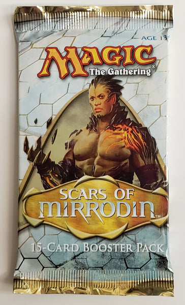MTG TCG Scars of Mirrodin booster packs