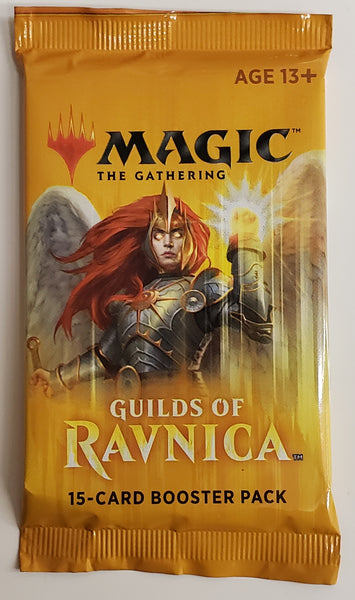 MTG TCG Guilds of Ravnica booster packs