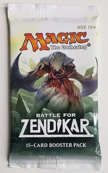 MTG TCG Battle for Zenikar booster packs