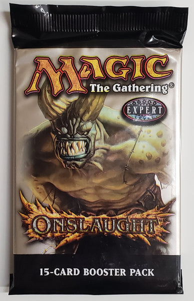 MTG TCG Onslaught booster packs