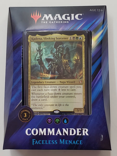 MTG TCG Commander deck Faceless Menace