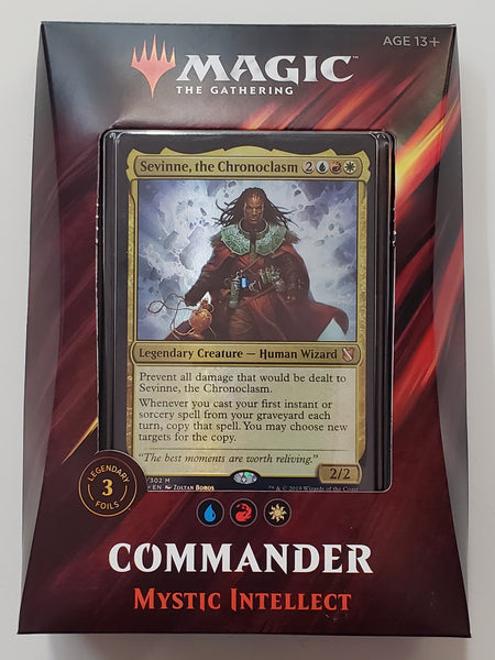 MTG TCG Commander deck Mystic Intellect