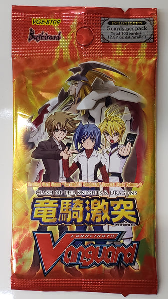 Vanguard BT09 Clash of Knights & Dragons booster packs