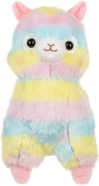 "Amuse 20"" Rainbow Alpaca Plush Stuffed Animal, Authentic Licensed Product - Large"
