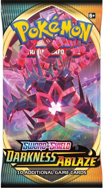 Pokemon TCG Sword & Shield Darkness Ablaze-Booster pack