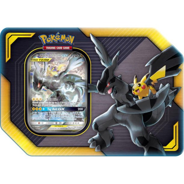 Pokemon TCG Team Up Tag Team Tin Pikachu & Zekrom