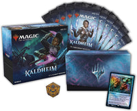 MTG TCG  Kaldheim Bundle | 10 Draft Boosters (150 Magic Cards) + Accessories