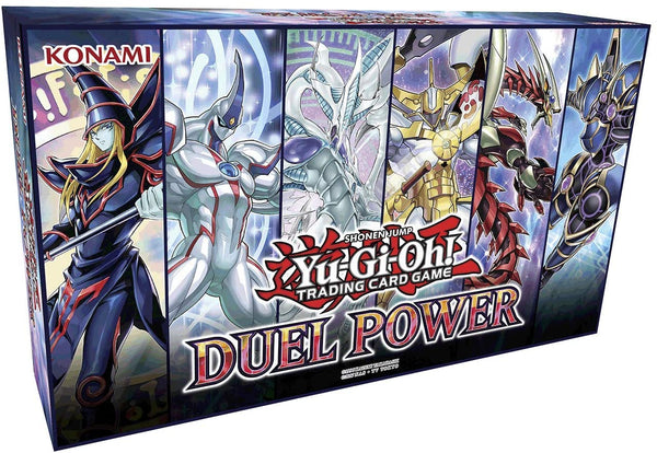 Yugioh Trading Cards TCG: Duel Power Box- 6 Rare Cards & Booster Pack