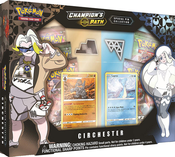 Pokemon TCG: Champion's Path Special Pin Collection Circhester