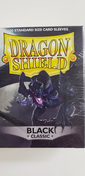 DSSP - Dragon Shield 100ct standard Black (classic) sleeves
