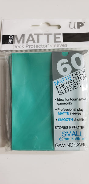 UPSP - Ultra Pro 60ct small Aqua (matte) sleeves