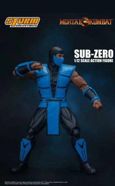 STORM COLLECTIBLES Sub-Zero Mortal Kombat 3 version