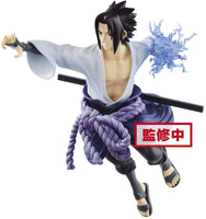 Naruto Shippuden Official Licensed Vibration Stars Uchiha Sasuke Figure by Banpresto