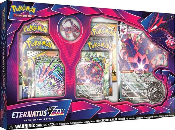 Pokemon TGC: Eternatus Vmax Premium ONLY ONE PER CUSTOMER