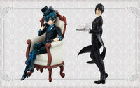 Black Butler Book of The Atlantic the Movie : Ciel Phantomhive & Sebastian Michaelis Special Figure Set by Furyu