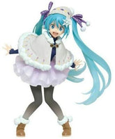 Hatsune Miku Official Licensed Original Winter Clothes Ver. Renewal Figure by Taito