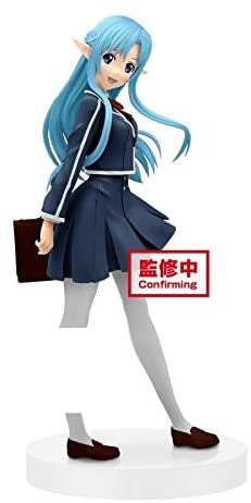 Sword Art Online Official Licensed Asuna School Uniform EXQ Figure by Banpresto