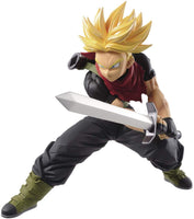 Super saiyan Trunks action figure holding sword