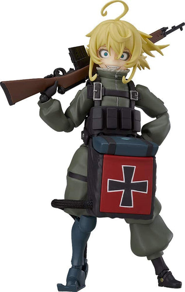 Max Factory Saga of Tanya The Evil - The Movie: Tanya Degurechaff Figma Action Figure, Multicolor