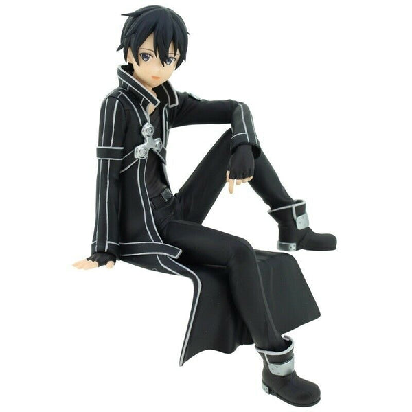 Sword Art Online Official Licensed Noodle Stopper Kirito Figure by FuRyu
