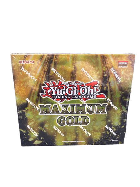 YuGiOh TCG Maximum Gold MINI Box [4 Booster Packs]