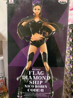 One Piece Flag Diamond Ship Nico Robin Code:B figure by Banpresto