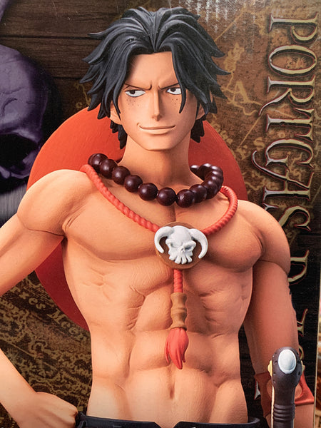 One Piece Grandista Portgas D Ace figure By Banpresto 9""