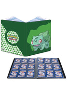 UPSP Ultra Pro E-15540 9 Pocket Portfolio-Pokemon Bulbasaur