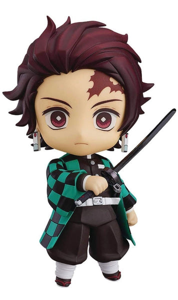Good Smile Kimetsu No Yaiba: Demon Slayer: Tanjiro Kamado Nendoroid Action Figure, Multicolor