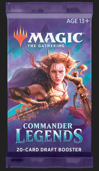 MTG Commander Legends DRAFT Booster PACK - Sealed English