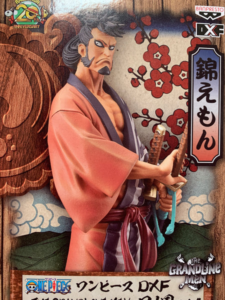 One Piece The Grandline Men Kinemon Figure By Banpresto