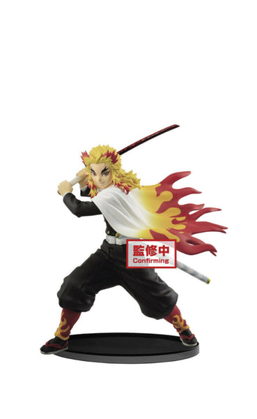 Banpresto Demon Slayer Figure Vibration Stars Kyojuro Rengoku PRE ORDER
