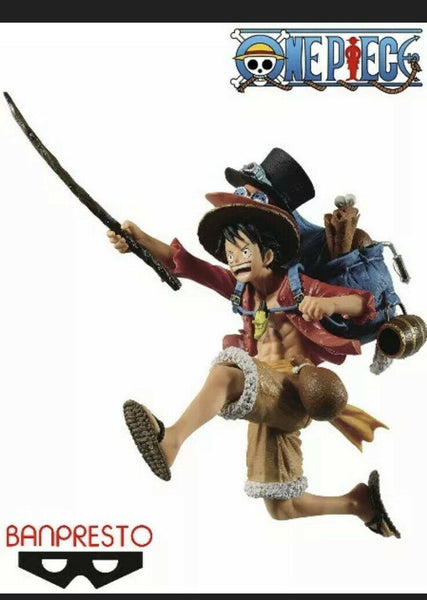 Banpresto One Piece Three Brothers 2 Monkey D. Luffy Figure New