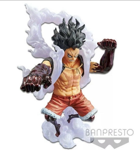 Bandai KING OF ARTIST ONE PIECE THE MONKEY. D.LUFFY GEAR4 SPECIAL (ver.B) Figure