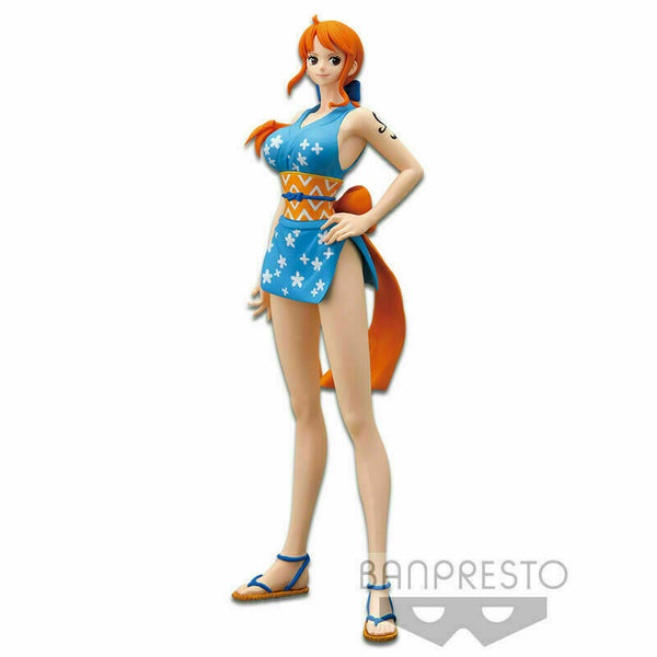 Banpresto One Piece Glitter Glamours Anime Figure Toy Nami Wanokuni BP16098