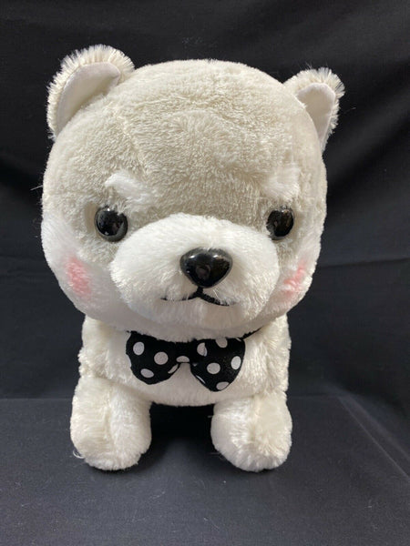 Amuse Premium Mameshiba Brothers Plush BIG Grey Pastel Shiba Stuffed Dog Pup