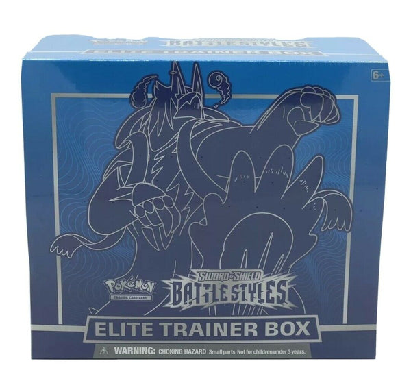 Pokemon TCG Battle Styles Elite Trainer Box Blue New Sealed