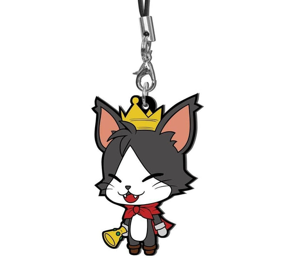 Square Enix Final Fantasy Trading Rubber Strap FF VII 7 EDITION Charm Cait Sith